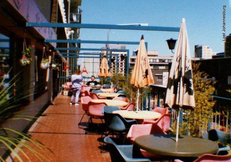 Cafe De Paris, Kotze Street, Hillbrow, balcony.