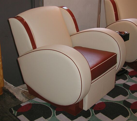 Deco-Dence Art Deco - Seating - Custom 3 - Art Deco club chairs, bars, dining, bedroom, desks