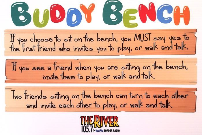 buddy bench rules - Google Search