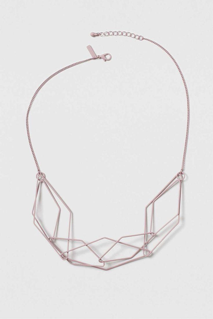 Geo Interlink Necklace