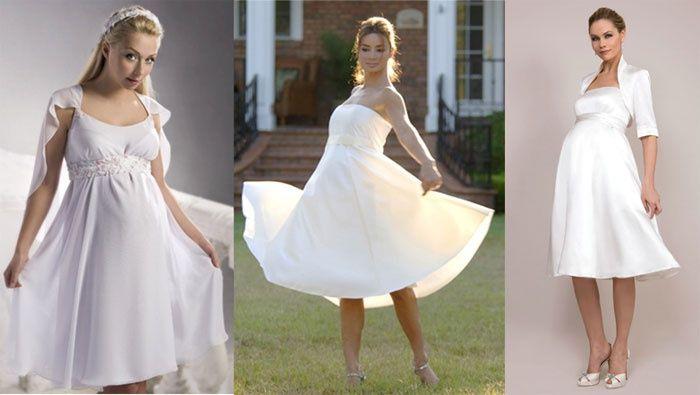 свадебные платья для третьего триместра беременности
