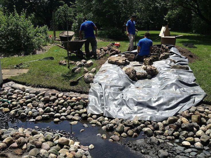 Pond Renovation Deer Park,IL: Pond Construction by Gem Ponds