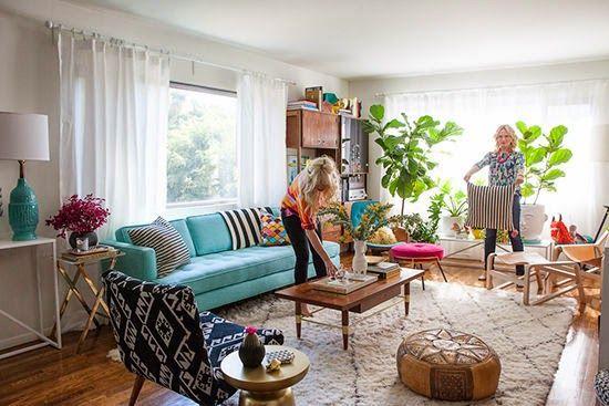 Um Antes e Depois de uma sala incrível, para você se inspirar e se apaixonar! | Um lar para Amar - Blog de decoração.