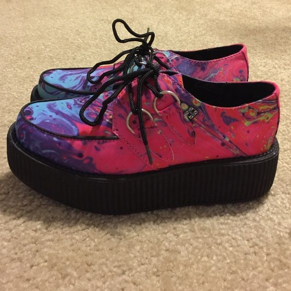 TUK creepers Brand new with tags. Never worn. TUK Shoes Platforms