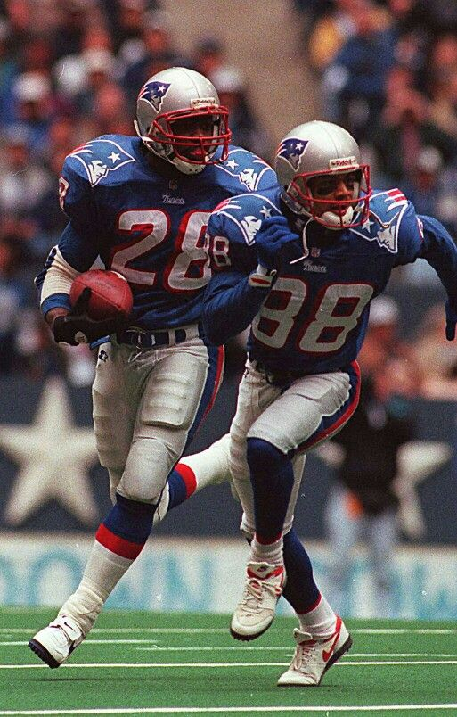 Curtis Martin and Terry Glenn