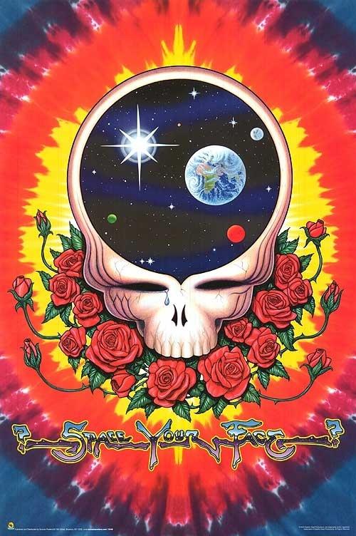 Space your face! Grateful Dead