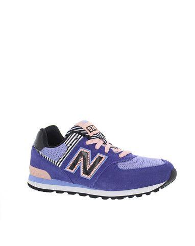 Fraaie New Balance Kids Sneaker (Paars) Sneakers van het merk brand1} voor  Meisjes