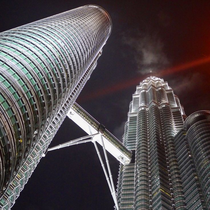 Petronas Towers in Kuala Lumour Malaysia - For travel tips and photos http://ajourneyintotheunknown.com