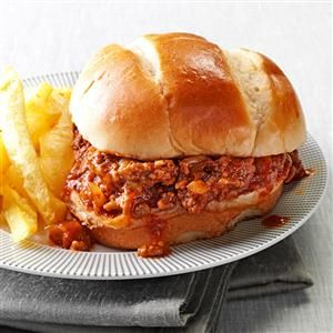 Tex-Mex Sloppy Joes Recipe -Sloppy Joes are a favorite of adults and kids. I deviated from the traditional recipe by adding a little Southwestern spiciness. —Geraldine Saucier, Albuquerque, New Mexico