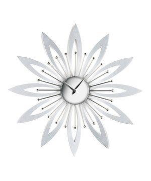 Flower Wall Clock by Premier Housewares #zulily #zulilyfinds