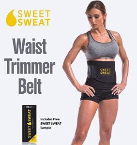 Sweet Sweat Premium Waist Trimmer for Men & Women. Includes Free Sample of Sweet Sweat Workout Enhancer! -   - http://sportschasing.com/sports-outdoors/accessories/sweet-sweat-premium-waist-trimmer-for-men-women-includes-free-sample-of-sweet-sweat-workout-enhancer-com-2/