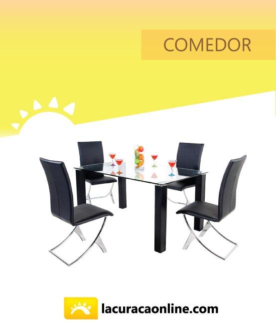Comedor - La Curacao  puedes ver variedad de modelos click aquí http://www.lacuracaonline.com/