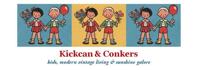 We're finally on Facebook!  http://tinyurl.com/6vd5b8g: Conkers Kids, Banners Illustrations, Vintage Kids, Kids Modern