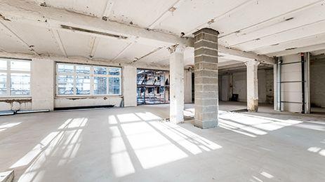Viel Platz zum individuellen Gestalten. #design #architektur #interior #creativity