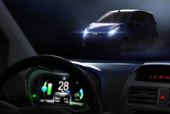 Chevrolet Spark EV debuts at the Hall of Los Angeles