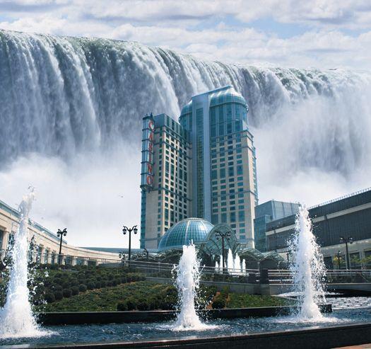 Niagra Falls (view Casino)