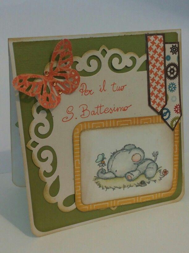Card battesimo #2. By L.M. By ricciocraft.