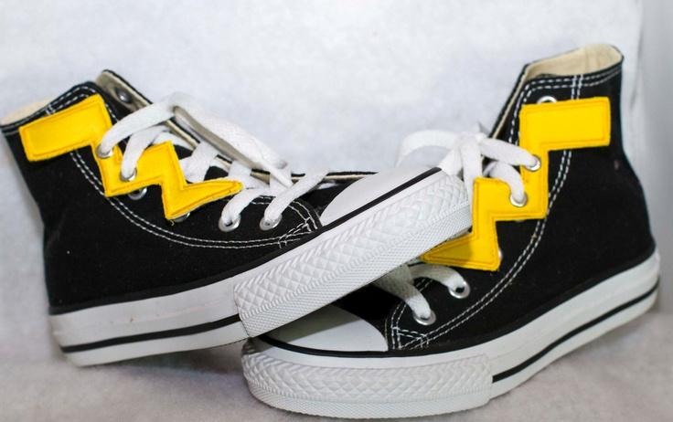Bolt like Lightning /-/-/ Shoe Embellishments - - - FREE shipping N. America. $10.00, via Etsy.