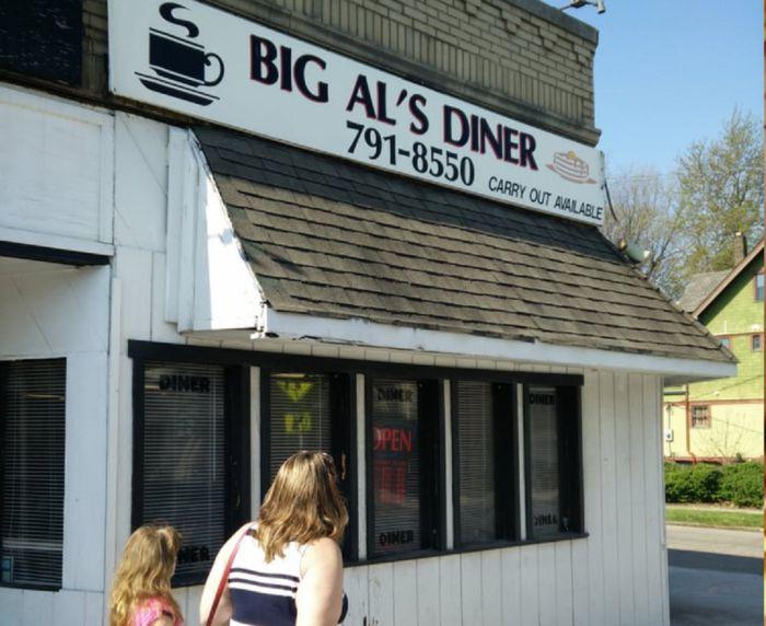 9. Big Al's Diner (12600 Larchmere Blvd)
