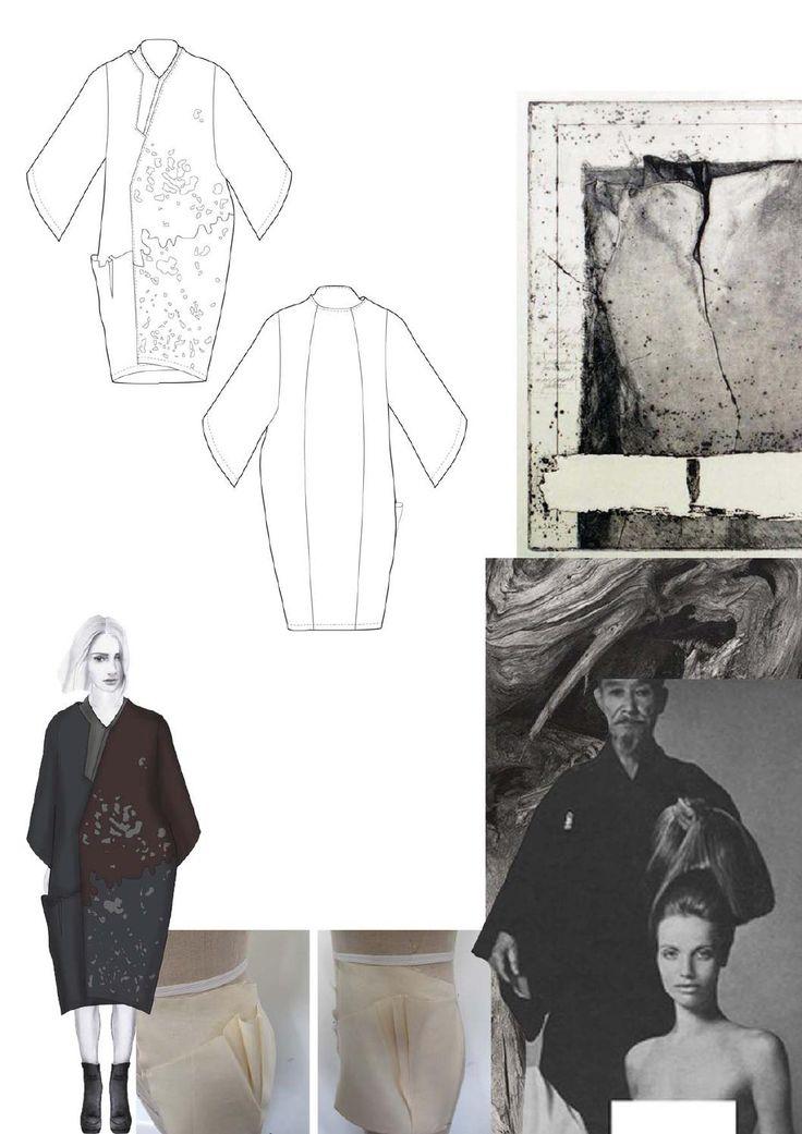 Fashion Sketchbook - fashion design drawings, research & development; graduate fashion portfolio // Amanda Svart
