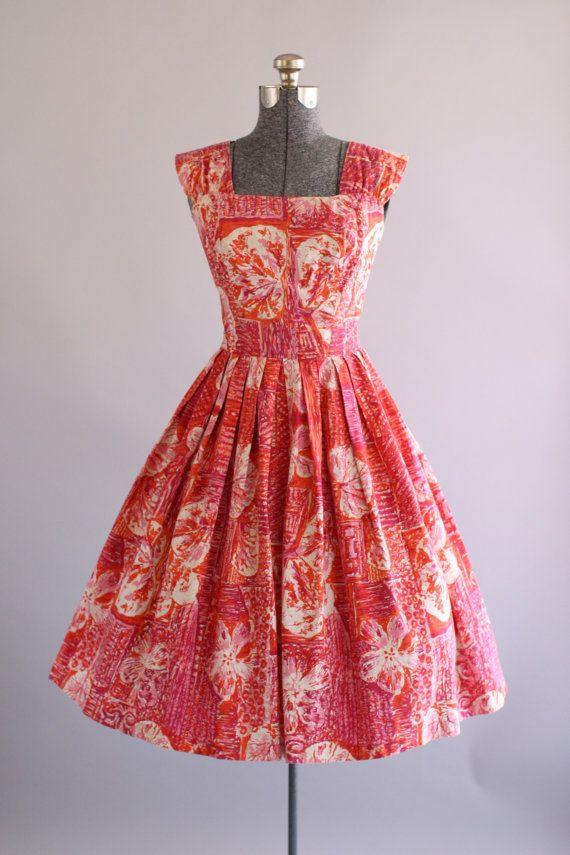 20% OFF STOREWIDE... Vintage 1950s Dress / by TuesdayRoseVintage