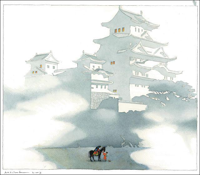 çizgili masallar: Yuki and the One Thousand Carriers by Yan Nascimbene