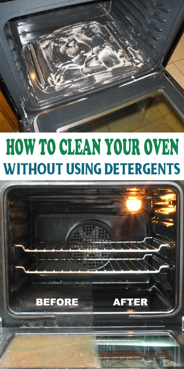 How To Clean Your Oven Without Using Detergents Ovens