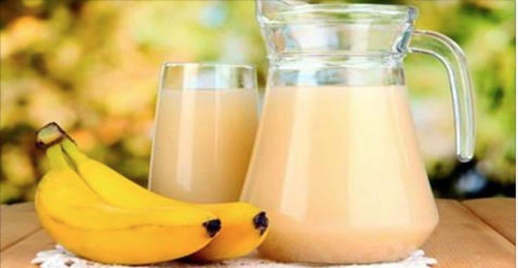 Banán, magický nápoj: odstraňuje tuk, detoxikuje telo a zvyšuje likvidáciu! | liečenie Nature