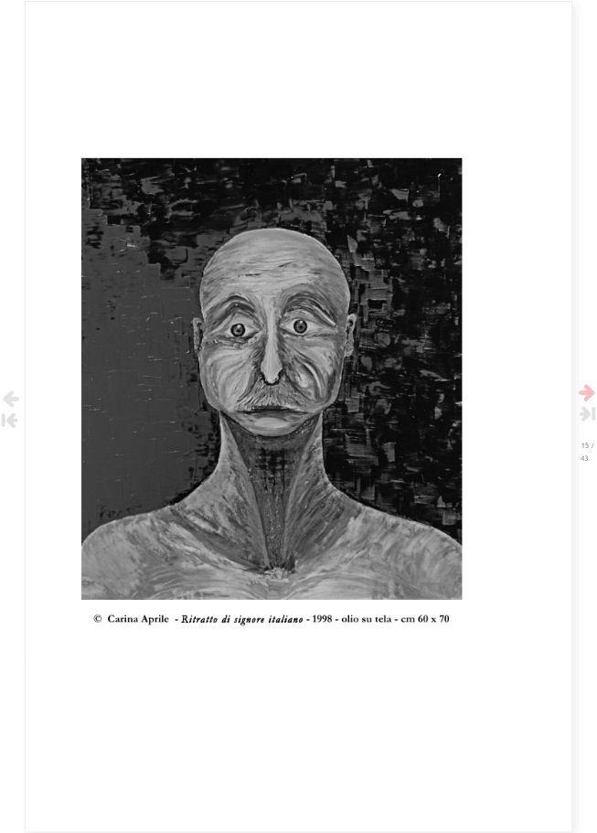 #Fabio Fabbri, #poesie immortali,  Ritratto di signore italiano by Carina Aprile. Pagina del libro FABIO FABBRI - Poesie Immortali - a cura di Carina Aprile