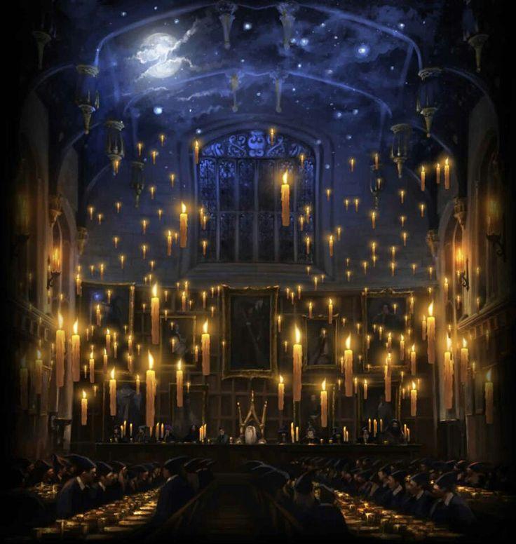 Bald kannst Du Dein Weihnachtsessen in der Großen Halle in Hogwarts essen