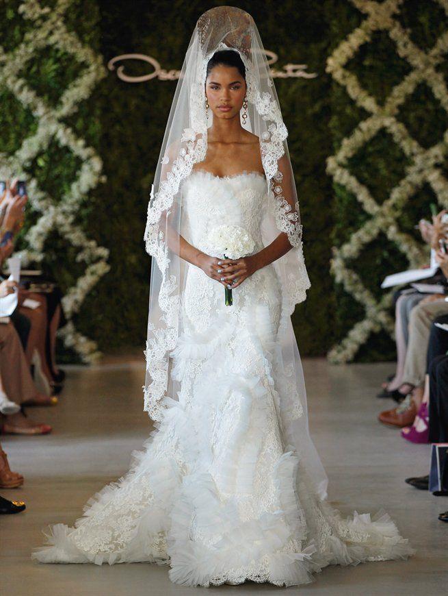 11 best Bridal Couture Oscar De La Renta images on Pinterest ...