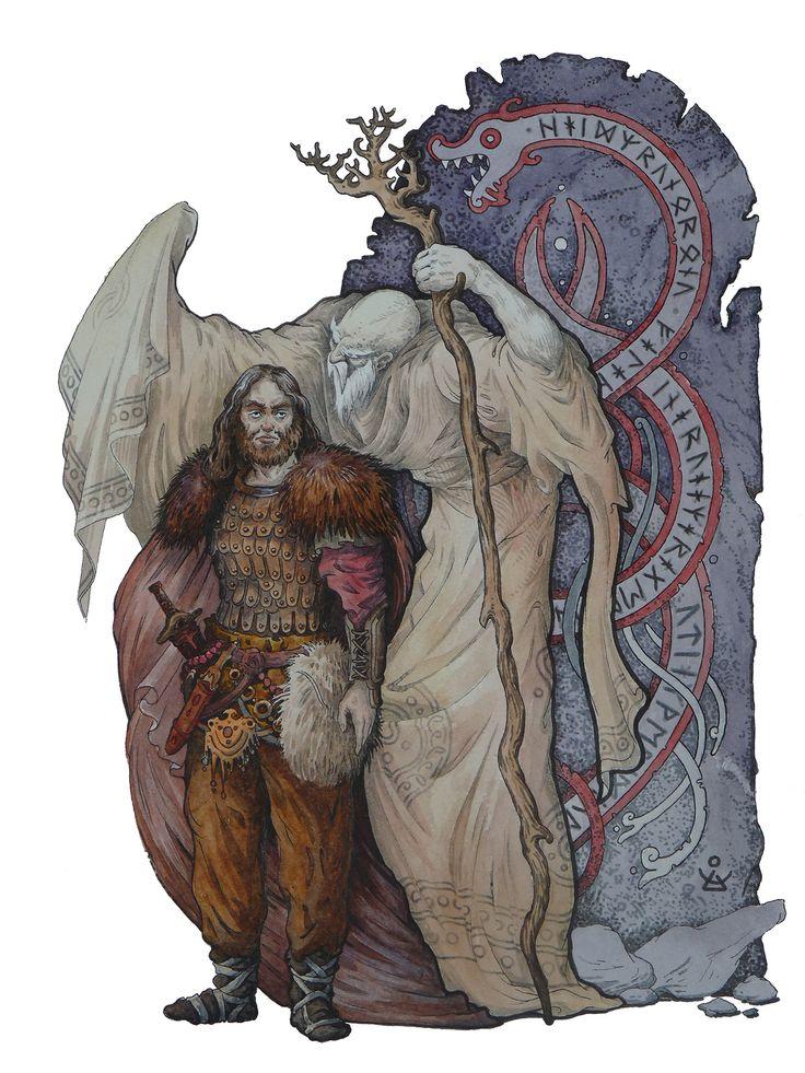 Dmitrij Ilyutkin   The king Eirik & High Elder