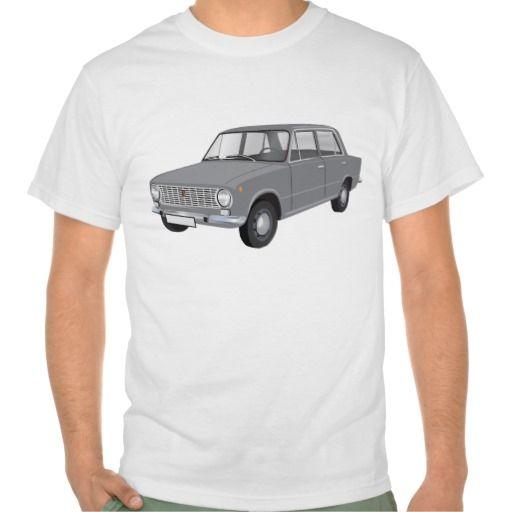 FIAT 124 Berlina grey  #fiat #fiat124 #60s #automobile #automobiles #tshirt #tshirts #car #italy #italia