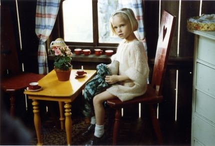 Soft knit sweater - Lotta from Bråkmakargatan by Astrid Lindgren