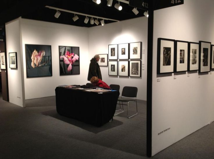 Kuropatwa's work at AIPAD Photography Show 2013.