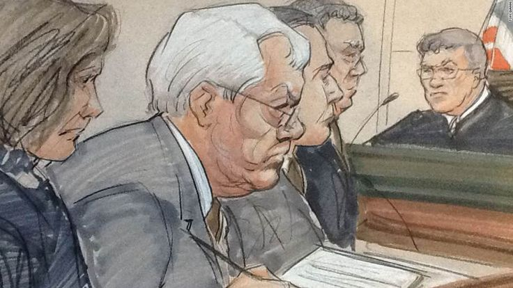Former House Speaker Dennis Hastert on Wednesday was sentenced to 15 months in prison and ordered to pay $250,000 to a victims' fund in a hush money case that revealed he was being accused of sexually abusing young boys as a teacher in Illinois.