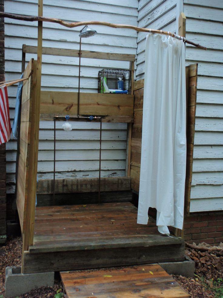 14 best Outdoor shower stalls images on Pinterest ...