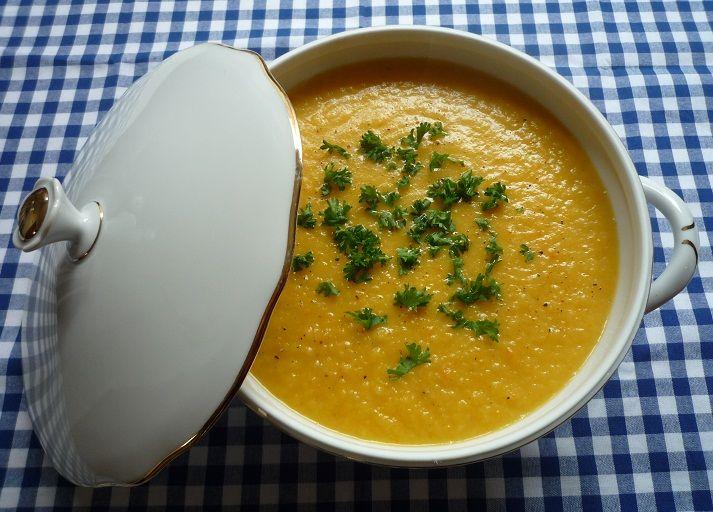 Potage bonne femme_eenvoudige Franse groentensoep_gepureerde soep_romige soep