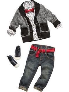 Baby Boy Clothes: Featured Outfits Outfits We Love | Old Navy. Cannon is totally going to dress like this!! As long as I'm the one dressing him haha :) | best stuff