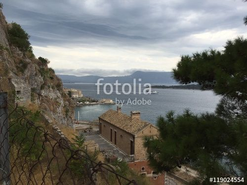 """Download the royalty-free photo """"Kerkyra town, Corfu island, Greece """" created by Ciaobucarest at the lowest price on Fotolia.com. Browse our cheap image bank online to find the perfect stock photo for your marketing projects!"""