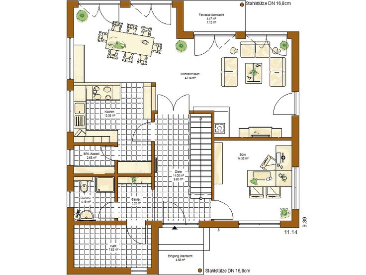 30 best Grundriss images on Pinterest House floor plans, Bungalows