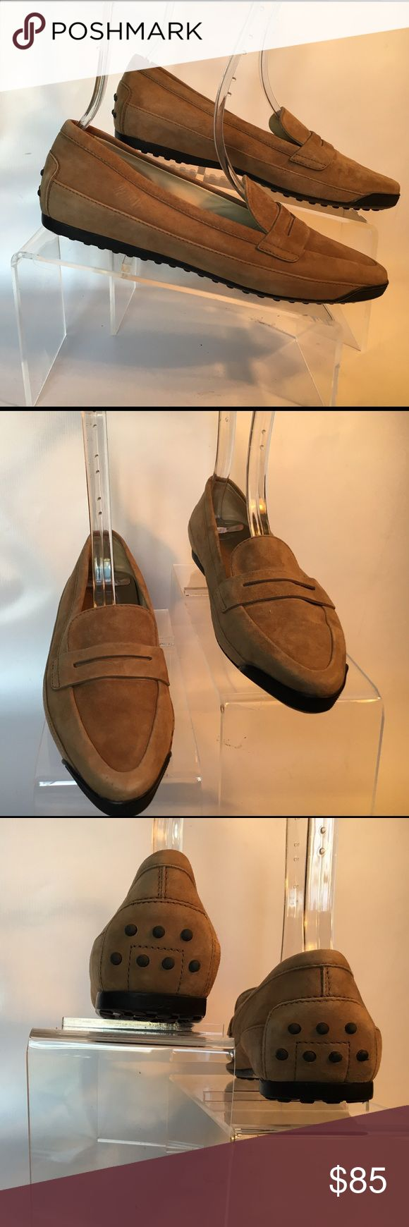 Tod's suede driving shoes Tod's suede driving shoes. Excellent condition Tod's…
