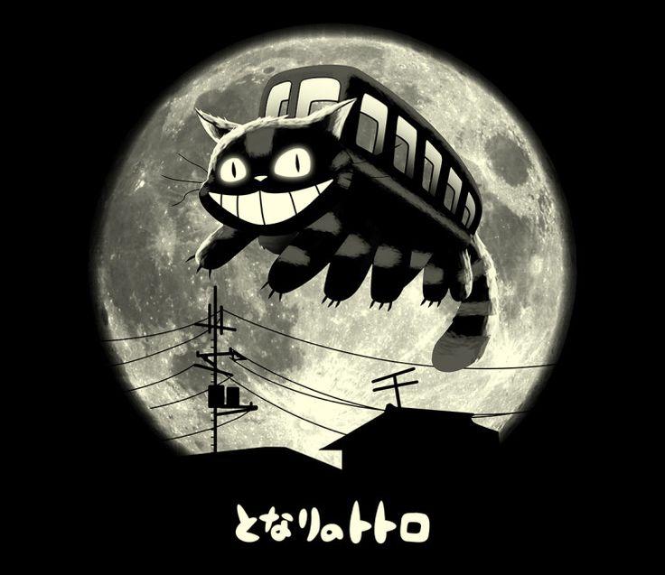 Cat Jump | Cat Bus | My Neighbor Totora | Studio Ghibli | TeeFury