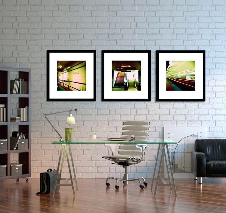 Cool Modern Office Decor Awesome Modern Art For Office Soft Light