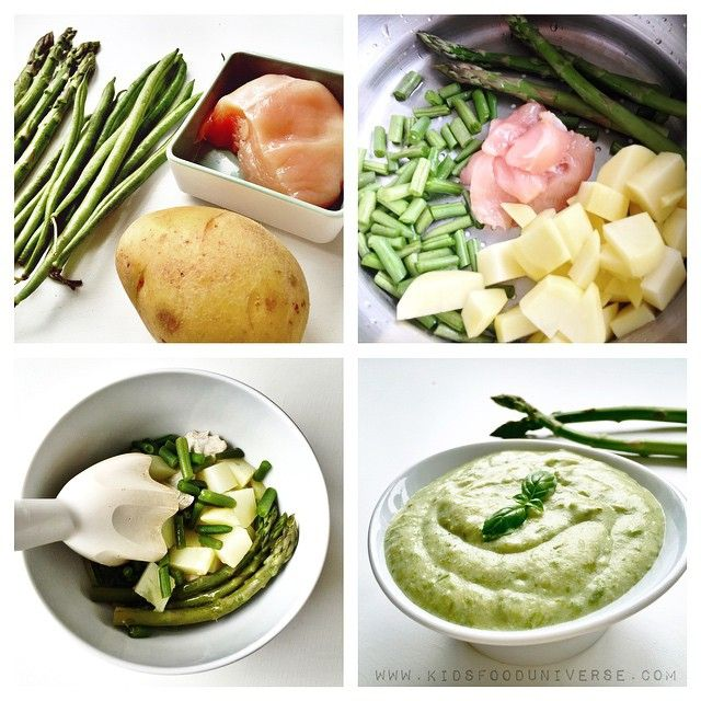 97 food ideas for baby 7 months picky eater approved recipes chickenbreast asparagus green beans puree so light and delicious would serve this to my baby as forumfinder Gallery