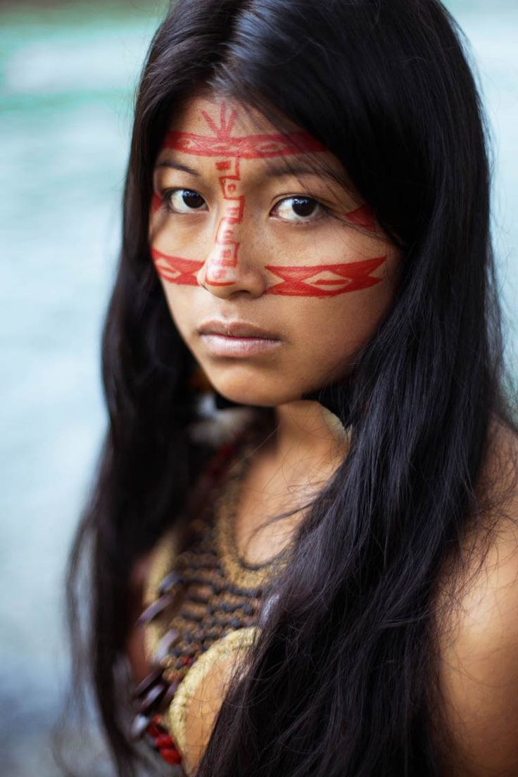 The-Atlas-of-Beauty-Mihaela-Noroc-9 | Kichwa woman from Equatorian Amazon jungle