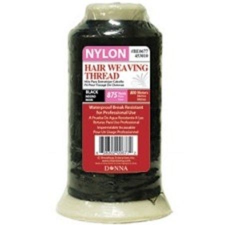 Donna Hair Weaving Thread Black Medium - 875 Yards #BE0677  $3.59   Visit www.BarberSalon.com One stop shopping for Professional Barber Supplies, Salon Supplies, Hair & Wigs, Professional Product. GUARANTEE LOW PRICES!!! #barbersupply #barbersupplies #salonsupply #salonsupplies #beautysupply #beautysupplies #barber #salon #hair #wig #deals #sales #Donna #Hair #Weaving #Thread #Black #Medium #875Yards #BE0677