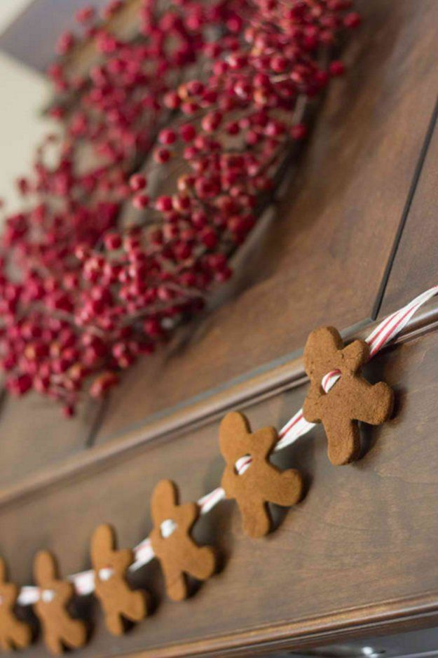 Gingerbread Garland |Easy DIY Christmas Decorations | Make Simple Christmas Decor