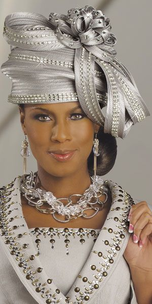 ~~hat!, necklace, earrings and outfit bejeweled in silver~~