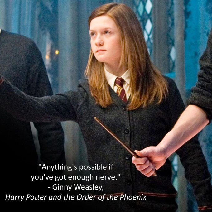 Top Five Characters I Want As My Best Friend Ginny Weasley